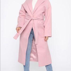 Mauve Long Coat
